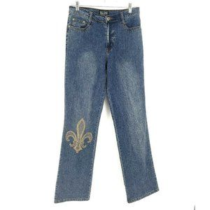 Christopher & Banks Womens Size 6 Blue Denim Jeans